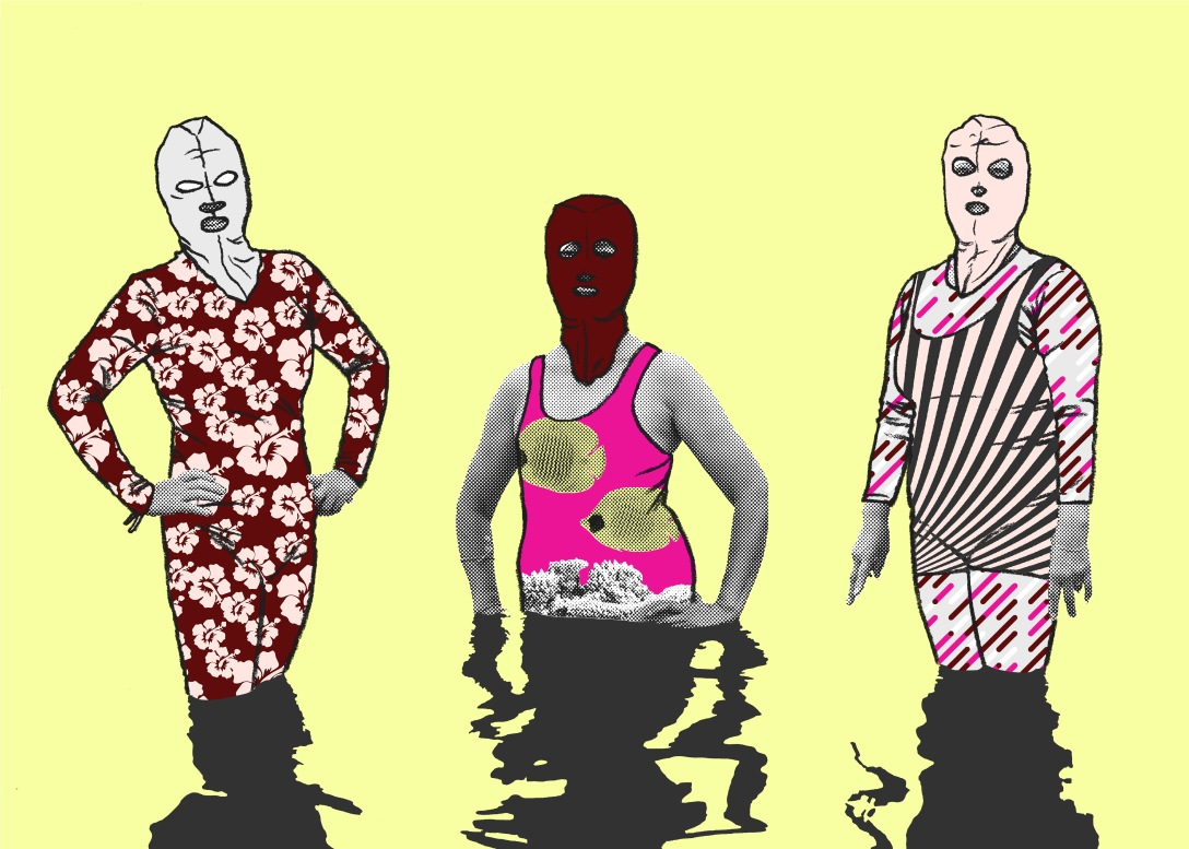 Burkini and Facekini 2